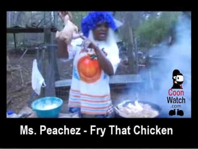 Ms Peachez Fry That Chicken
