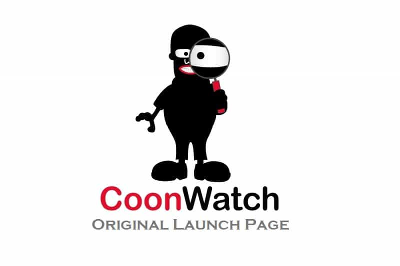 CoonWatch Original Launch Page