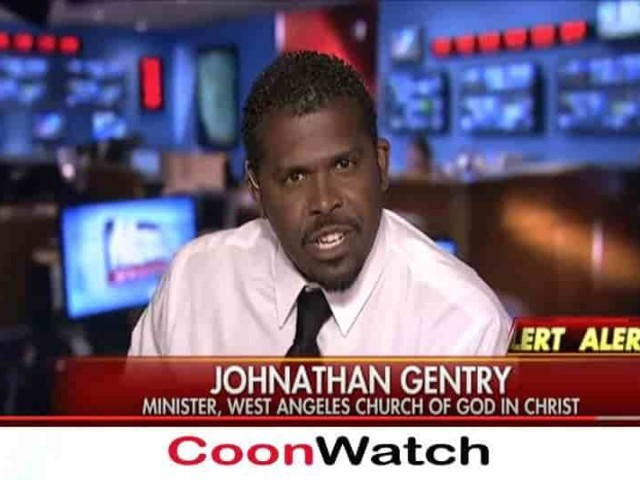 Johnathan Gentry Cooning Black Lives Matter