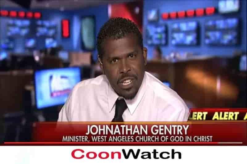 Johnathan Gentry Cooning Black Lives Matter