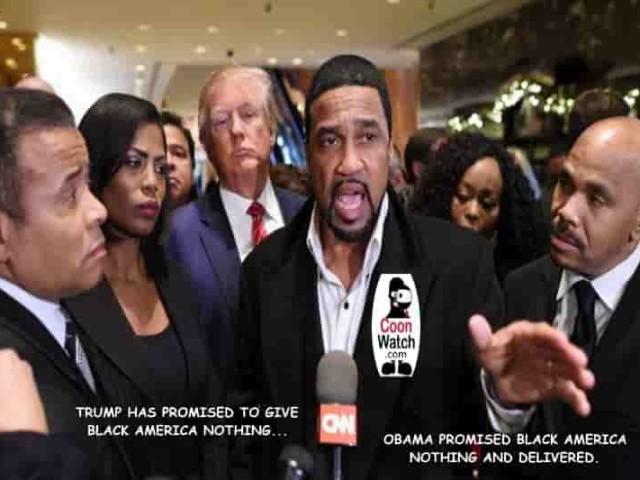Black Pastors Cooning Trump