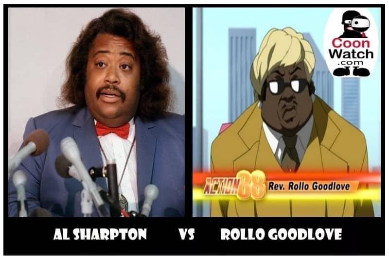 Al Sharpton Cooning as Rollo GoodLove for Comcast