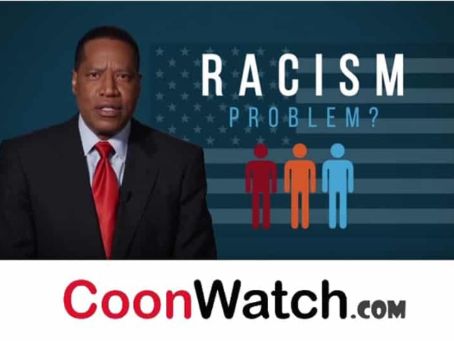 Cooning Larry Elder Racism Is Over?