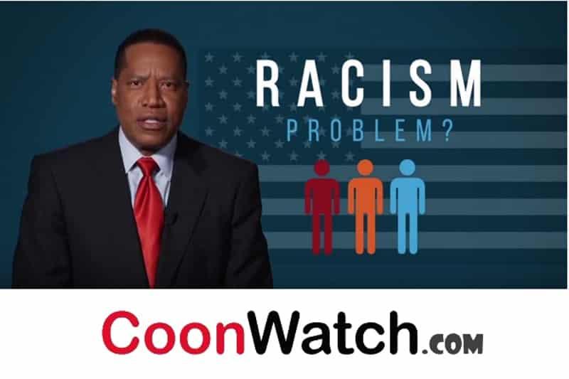 Cooning Larry Elder Racism Is Over