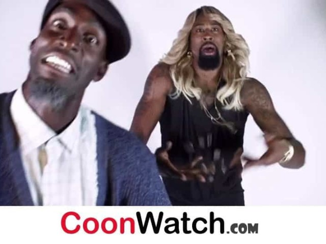 Dress Wearing Deandre Jordan Cooning for State Farm