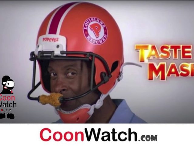 Jerry Rice Cooning for Popeyes